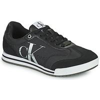 Sapatos Homem Sapatilhas Calvin Klein Jeans LOW PROFILE SNEAKER LACEUP PES Preto