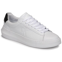 Sapatos Mulher Sapatilhas Calvin Klein Jeans CHUNKY SOLE SNEAKER LACEUP LTH Branco
