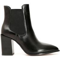 Sapatos Mulher Botins Café Noir LB223 Preto