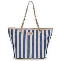 Malas Mulher Cabas / Sac shopping Liu Jo SICURA XL TOTE Bege / Azul