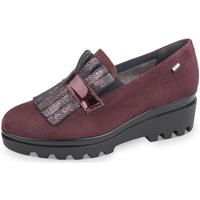 Sapatos Mulher Mocassins Valleverde - Mocassino bordeaux 45124 BORDEAUX