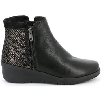 Sapatos Mulher Botas baixas Grunland - Polacchino nero PO1489 NERO
