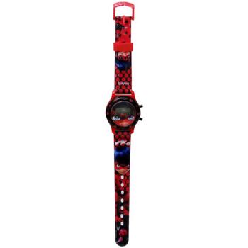 Relógios & jóias Rapariga Relógios Digitais Ladybug W-01-LB Rojo
