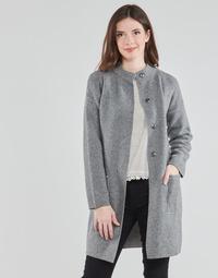 Textil Mulher Casacos Benetton 1132E9071-507 Cinza