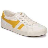Sapatos Mulher Sapatilhas Gola TENNIS MARK COX Bege / Amarelo