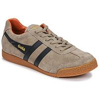 Sapatos Homem Sapatilhas Gola HARRIER Bege / Marinho