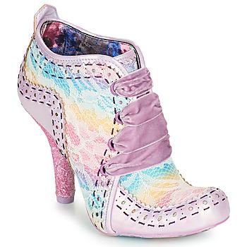 Sapatos Mulher Botas baixas Irregular Choice ABIGAIL'S THIRD PARTY Rosa / Violeta