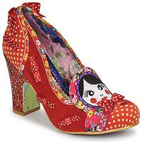 Sapatos Mulher Escarpim Irregular Choice MATRYOSHKA MEMORIES Vermelho