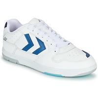 Sapatos Homem Sapatilhas Hummel POWER PLAY Branco / Azul