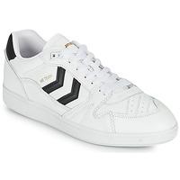 Sapatos Homem Sapatilhas Hummel HB TEAM Branco / Preto