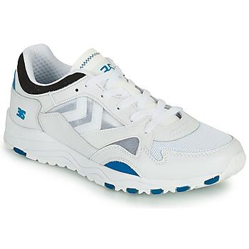 Sapatos Homem Sapatilhas Hummel EDMONTON 3S LEATHER Azul