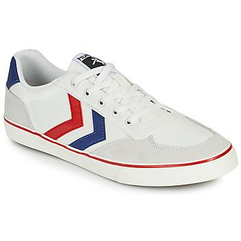 Sapatos Homem Sapatilhas Hummel STADIL LOW OGC 3.0 Branco / Azul / Vermelho