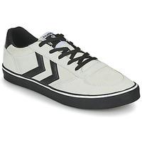 Sapatos Homem Sapatilhas Hummel STADIL 3.0 SUEDE Bege / Preto