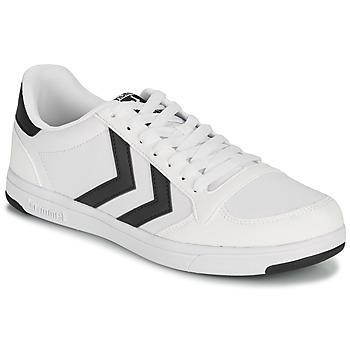 Sapatos Homem Sapatilhas Hummel STADIL LIGHT CANVAS Branco