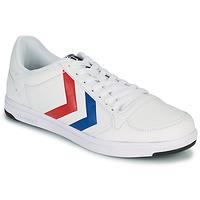 Sapatos Homem Sapatilhas Hummel STADIL LIGHT Branco / Azul / Vermelho