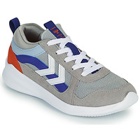 Sapatos Criança Sapatilhas Hummel BOUNCE JR Cinza / Azul