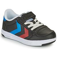 Sapatos Criança Sapatilhas Hummel STADIL LIGHT QUICK JR Preto