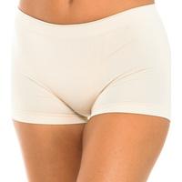 Roupa de interior Mulher Shorties / Boxers Intimidea Boxer mujer Panty Florida Castanho