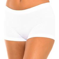 Roupa de interior Mulher Shorties / Boxers Intimidea Boxer mujer Panty Florida Branco