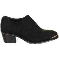 Sapatos Mulher Escarpim Tommy Hilfiger Zapatos tacón de piel Tommy Hilfiger Preto