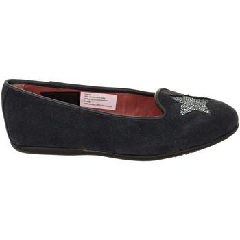 Sapatos Rapariga Sabrinas Tommy Hilfiger Manoletinas de piel Tommy Hilfiger Azul