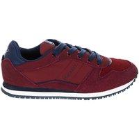 Sapatos Rapaz Sapatilhas Hackett Zapatillas Deportiva H.London Vermelho