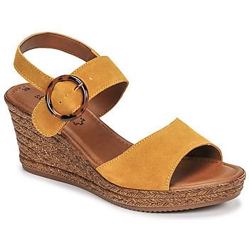 Sapatos Mulher Sandálias S.Oliver SAPINO Mostarda