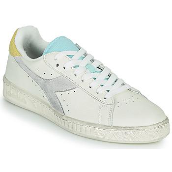 Sapatos Mulher Sapatilhas Diadora GAME L LOW ICONA WN Branco / Azul