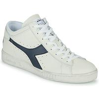 Sapatos Sapatilhas de cano-alto Diadora GAME L WAXED ROW CUT Branco