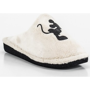 Sapatos Mulher Chinelos Berevere IN0508 blanco
