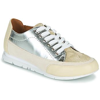 Sapatos Mulher Sapatilhas Karston CAMINO Bege / Prateado