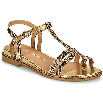 Sapatos Mulher Sandálias Karston SOREN Ouro