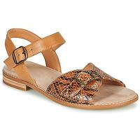 Sapatos Mulher Sandálias Karston XABERO Camel