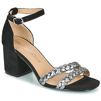 Sapatos Mulher Sandálias Karston POMELOS Preto / Prateado