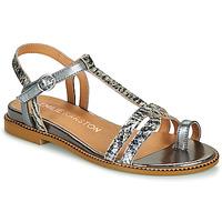 Sapatos Mulher Sandálias Karston SOREN Prateado