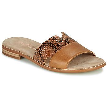 Sapatos Mulher Chinelos Karston XAPLINA Castanho