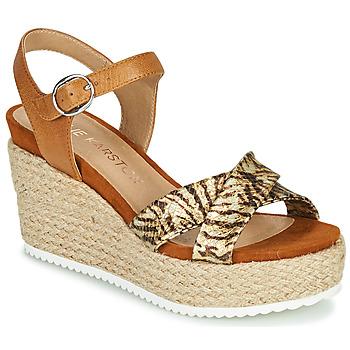Sapatos Mulher Sandálias Karston LABON Castanho / Ouro