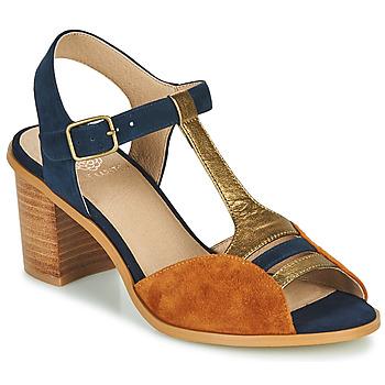 Sapatos Mulher Sandálias Karston LILIAN Castanho / Marinho