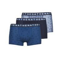 Roupa de interior Homem Boxer Athena EASY STYLE X3 Azul / Marinho / Azul