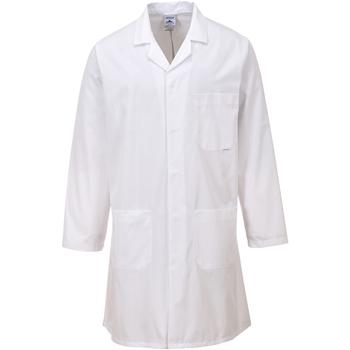 Textil Casacos Portwest PW175 Branco