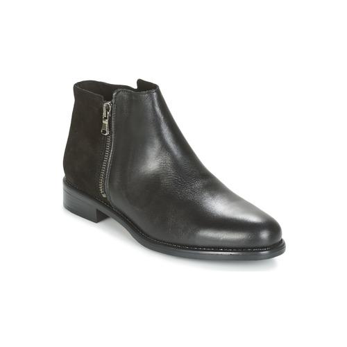 Sapatos Mulher Botas baixas Betty London FIANI Preto