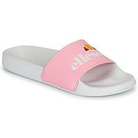 Sapatos Mulher chinelos Ellesse FILIPPO Branco / Rosa