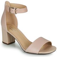Sapatos Mulher Escarpim Clarks DEVA MAE Rosa
