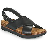 Sapatos Mulher Sandálias Clarks ELAYNE CROSS Preto