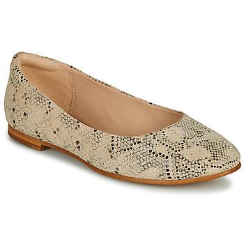 Sapatos Mulher Sabrinas Clarks GRACE PIPER Bege
