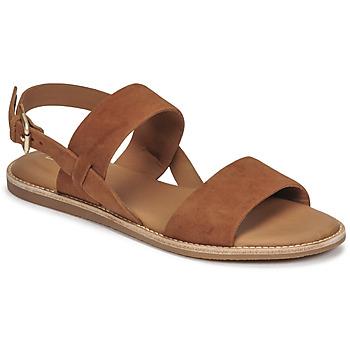 Sapatos Mulher Sandálias Clarks KARSEA STRAP Camel