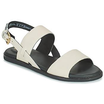 Sapatos Mulher Sandálias Clarks KARSEA STRAP Branco