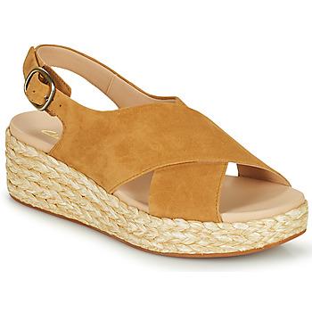 Sapatos Mulher Sandálias Clarks KIMMEI CROSS Castanho