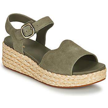 Sapatos Mulher Sandálias Clarks KIMMEI WAY Cáqui