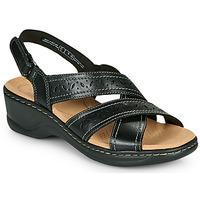 Sapatos Mulher Sandálias Clarks LEXI PEARL Preto